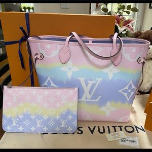 Louis Vuitton Escale Nevefull Pastel